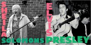 Elvis Presley rifatto nella casa di cura