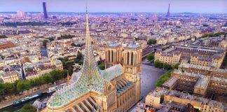 Il progetto di Vincent Callebaut per il tetto di Notre-Dame a Parigi