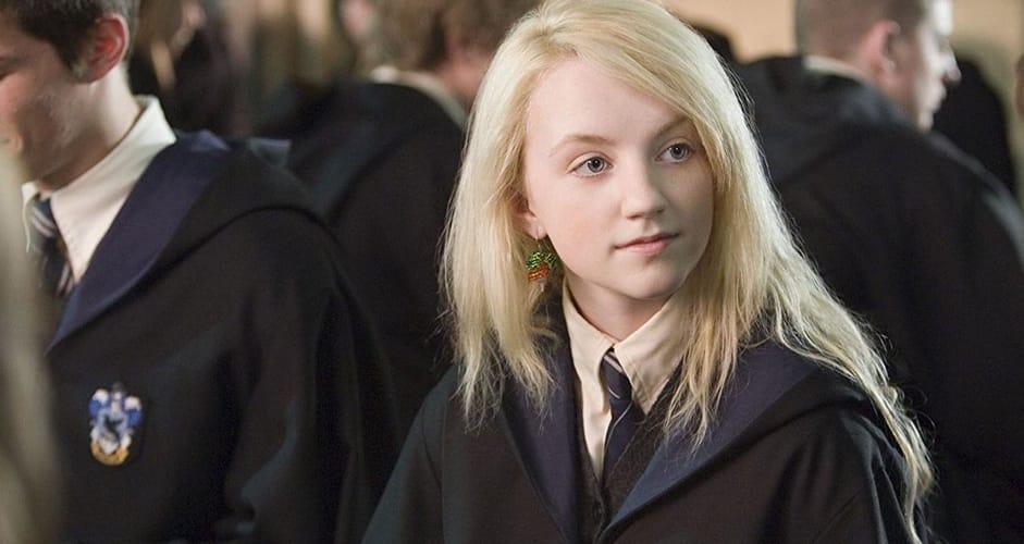 Luna Lovegood ad Hogwarts