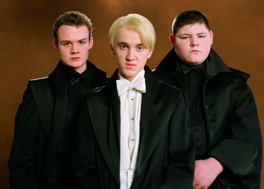 Draco Malfoy e i suoi due scagnozzi