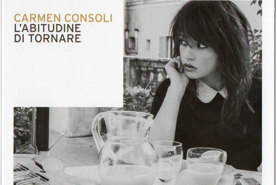 La copertina di L'abitudine di tornare di Carmen Consoli