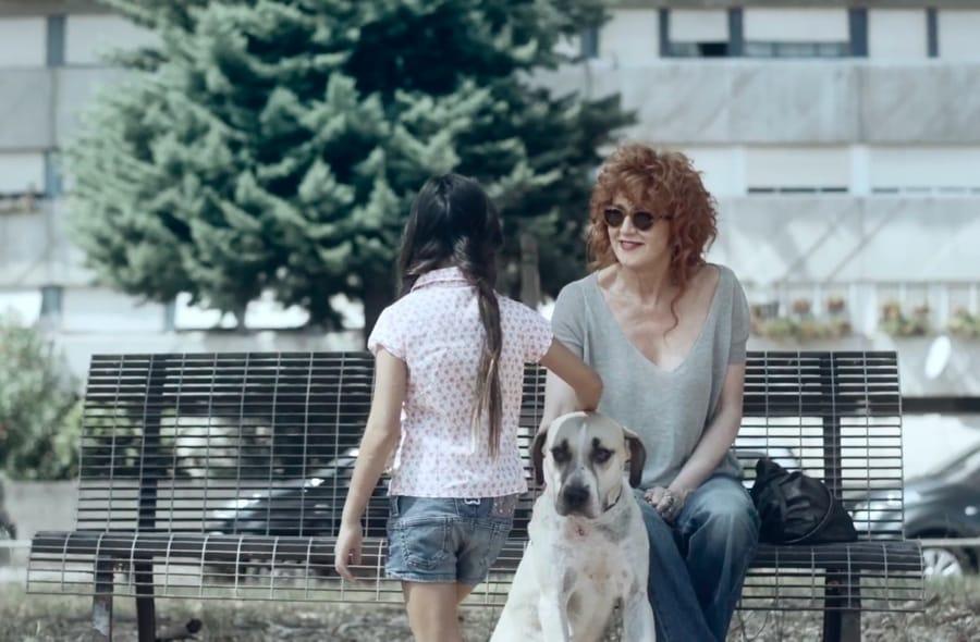 Un'immagine del video di Nessuna conseguenza di Fiorella Mannoia