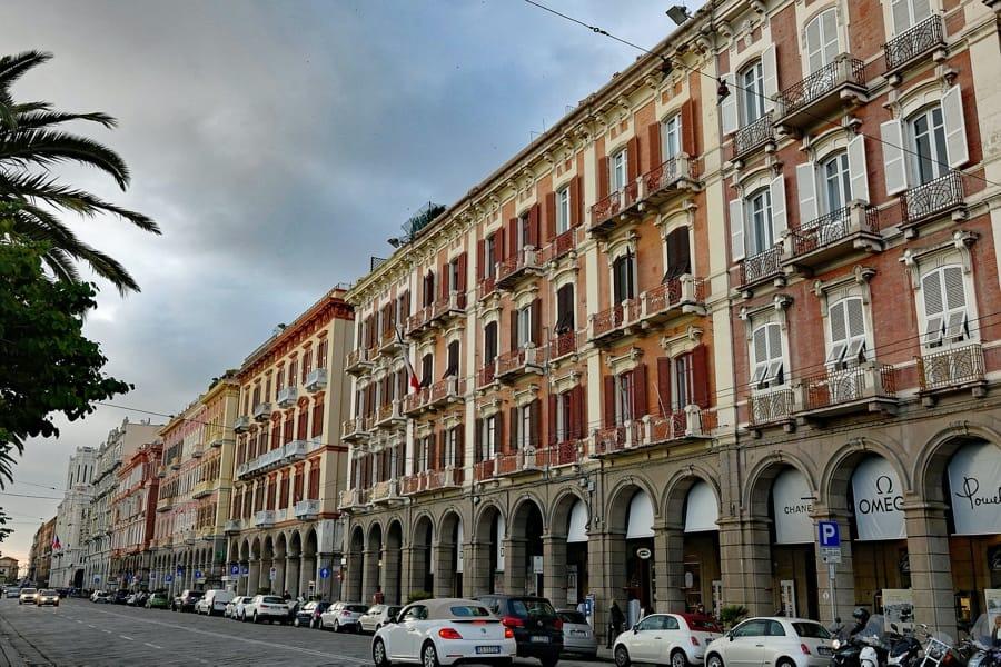 I palazzi di Cagliari