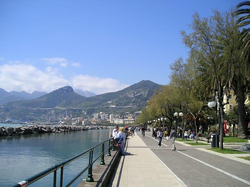 Il Lungomare Trieste a Salerno