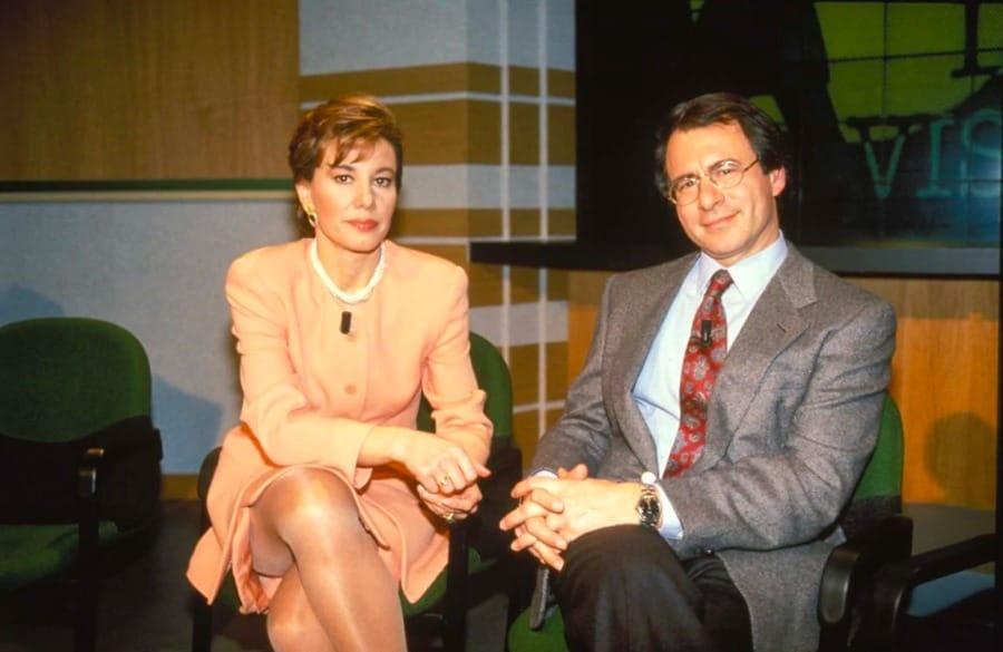 Alessandra Graziottin, a sinistra, con Luigi Di Majo