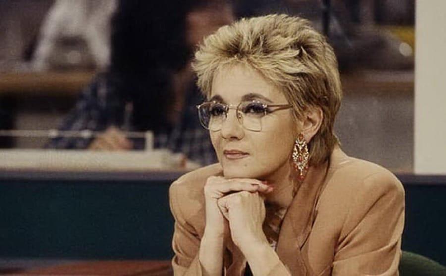 Donatella Raffai ai tempi di Chi l'ha visto?
