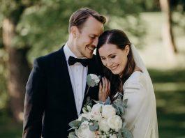 La foto del matrimonio di Sanna Marin