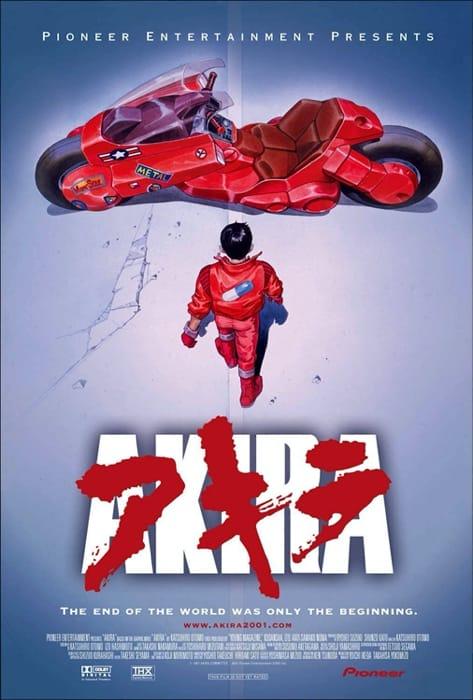 La celebre locandina di Akira
