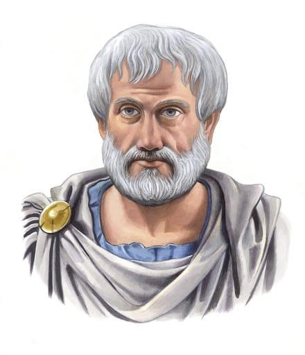 Un ritratto di Aristotele