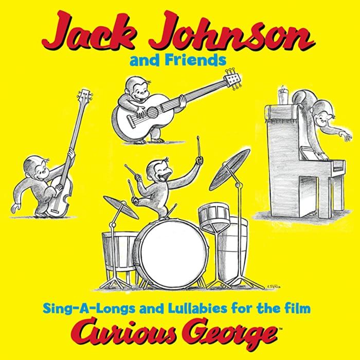 La colonna sonora di Curious George curata da Jack Johnson
