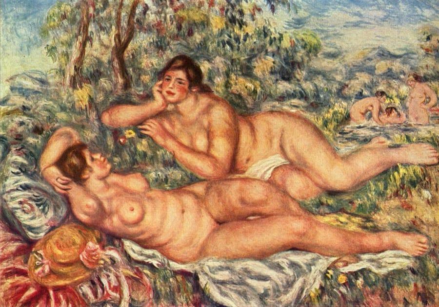 Le bagnanti di Renoir