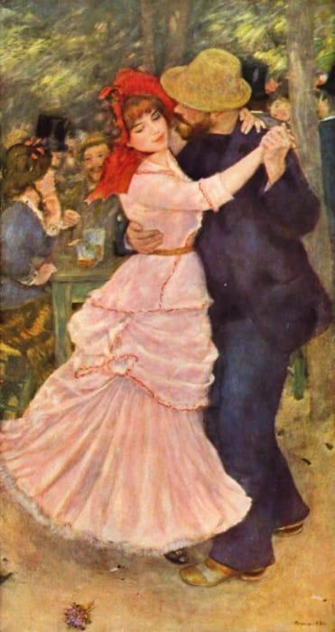 Ballo a Bougival di Renoir