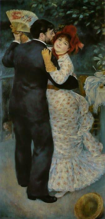 Ballo in campagna di Renoir