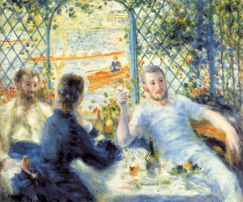 Colazione in riva al fiume di Renoir