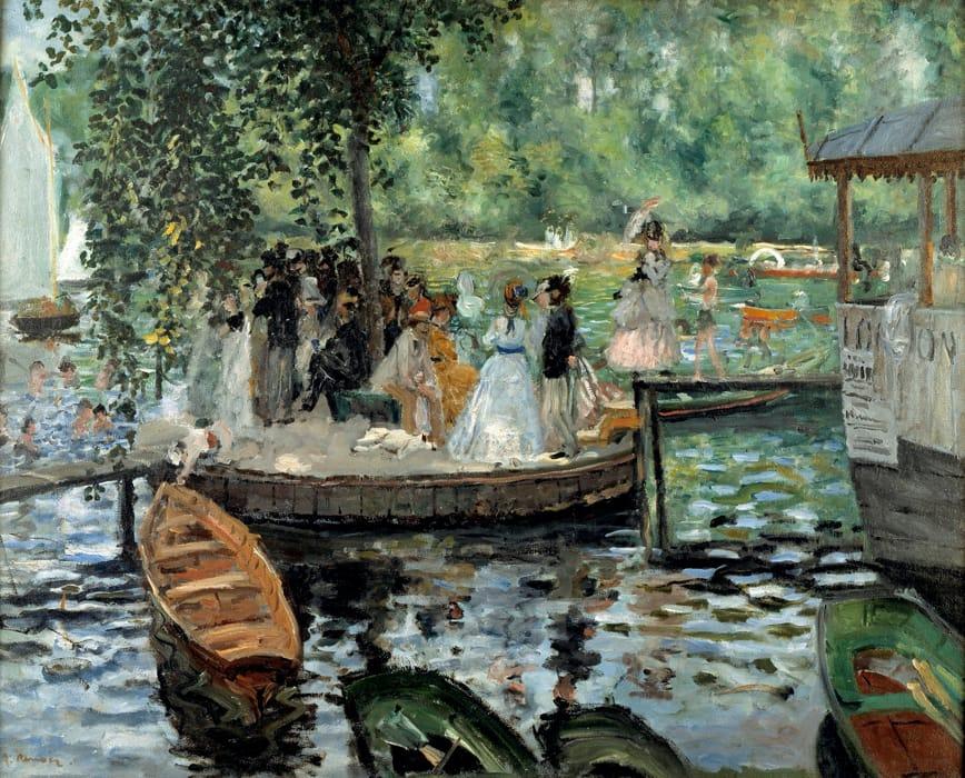 La Grenouillère di Renoir